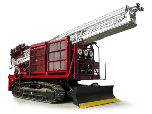 Foremost MDP1500 Tracked Exploration Drilling Rig
