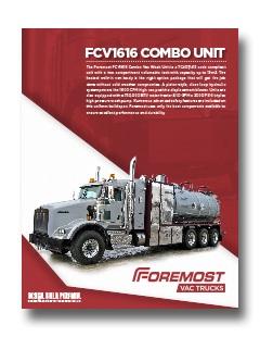 FVS1616 Code Combination Wash Unit FVS1616 Code Combination Wash Unit Foremost combounit