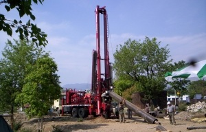 Foremost DR-24HD Heavy Duty Dual Rotary Drill Rig