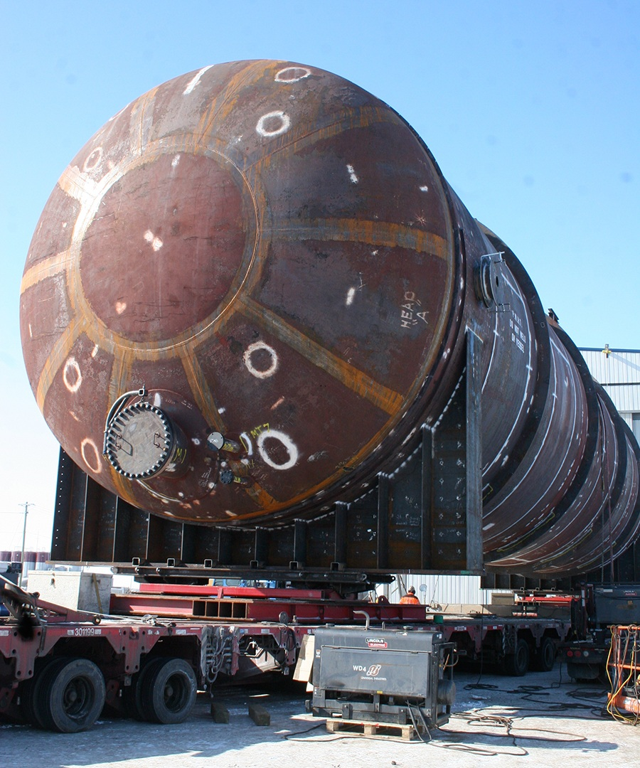 Foremost Pressure Vessels Major Projects Major Projects vessellarge