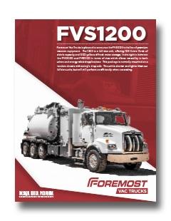 Non-Code Hydrovac Foremost 1200 Non-Code Hydrovac Model Foremost 1200