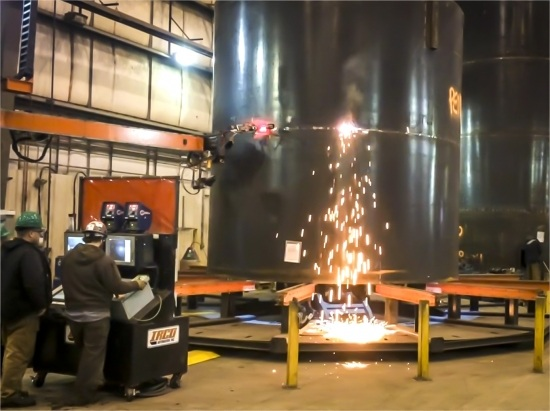 Foremost Automated Welder